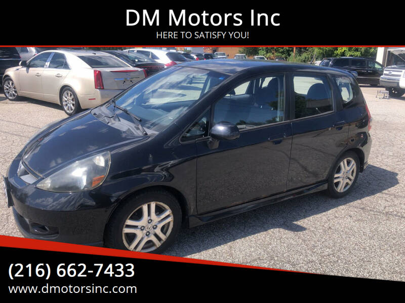2007 Honda Fit for sale at DM Motors Inc in Maple Heights OH