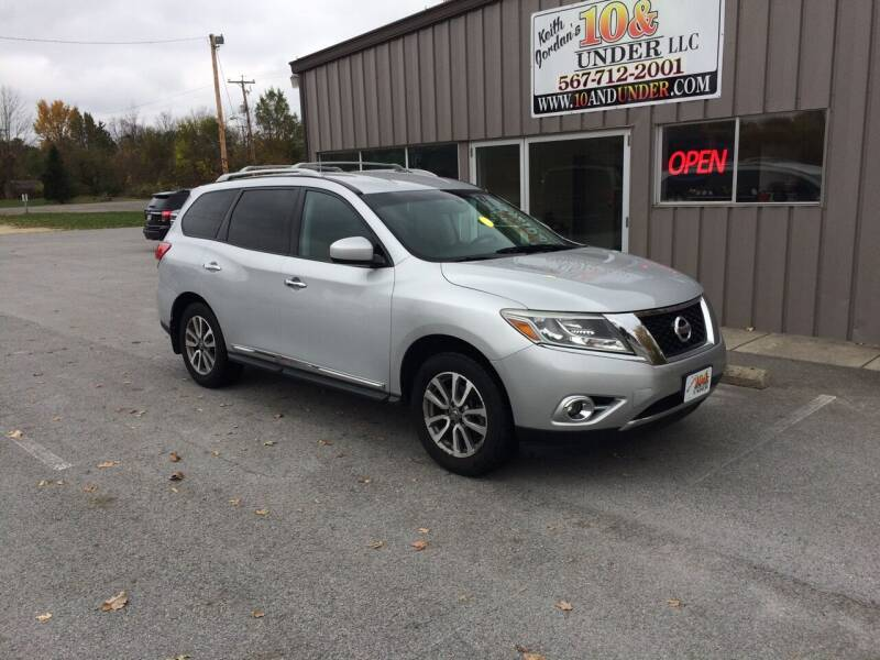 2013 Nissan Pathfinder for sale at KEITH JORDAN'S 10 & UNDER in Lima OH