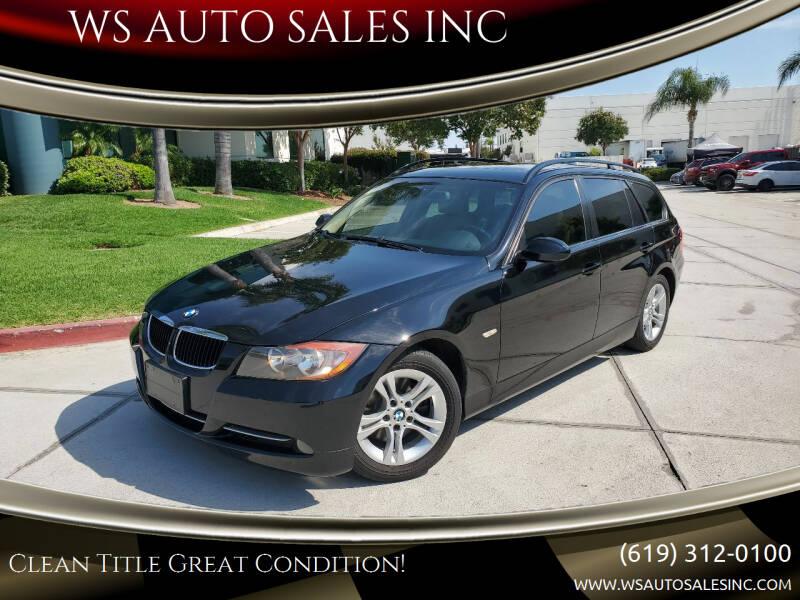 2008 BMW 3 Series for sale at WS AUTO SALES INC in El Cajon CA