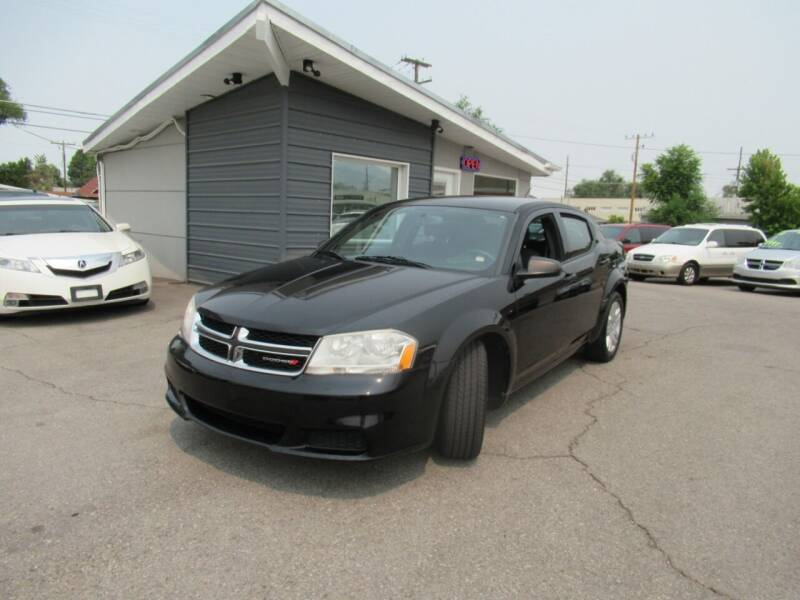 2014 Dodge Avenger for sale at Crown Auto in South Salt Lake UT