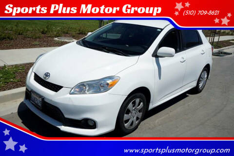 2011 Toyota Matrix for sale at Sports Plus Motor Group LLC in Sunnyvale CA