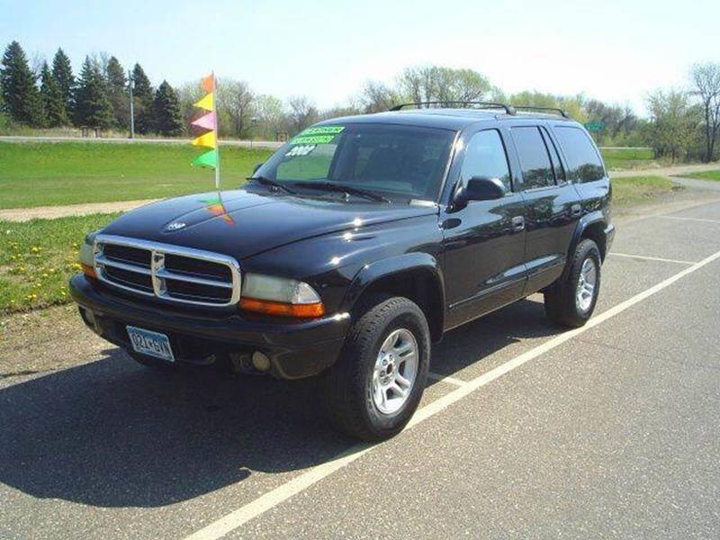 2002 Dodge Durango for sale at Dales Auto Sales in Hutchinson MN