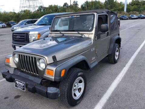 2004 Jeep Wrangler for sale at Jeffrey's Auto World Llc in Rockledge PA