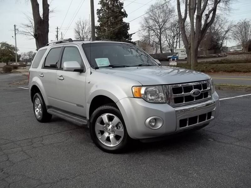 2008 Ford Escape for sale at CORTEZ AUTO SALES INC in Marietta GA