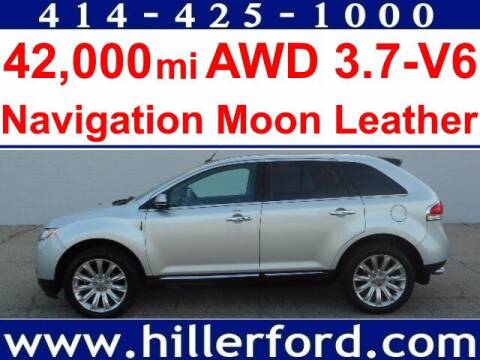 2014 Lincoln MKX for sale at HILLER FORD INC in Franklin WI