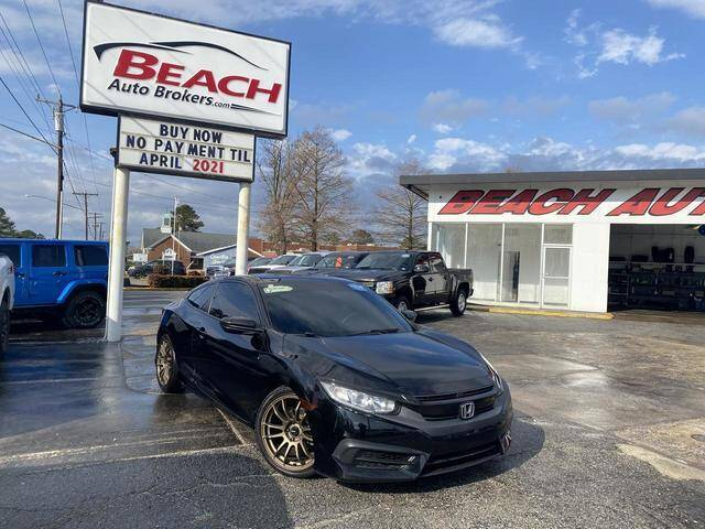 2017 Honda Civic for sale at Beach Auto Brokers in Norfolk VA