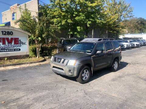 2005 Nissan Xterra for sale at Five Brothers Auto Sales in Roswell GA