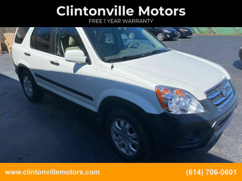 2005 Honda CR-V for sale at Clintonville Motors in Columbus OH
