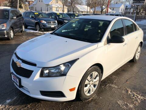 2012 Chevrolet Cruze for sale at Bibian Brothers Auto Sales & Service in Joliet IL