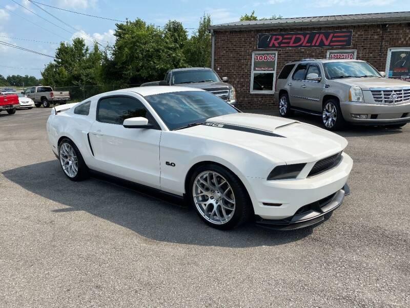 2012 Ford Mustang for sale at Redline Motorplex,LLC in Gallatin TN