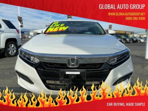 2018 Honda Accord for sale at Global Auto Group in Fontana CA