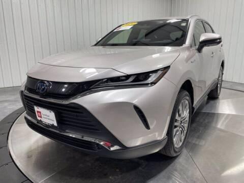 2021 Toyota Venza for sale at HILAND TOYOTA in Moline IL