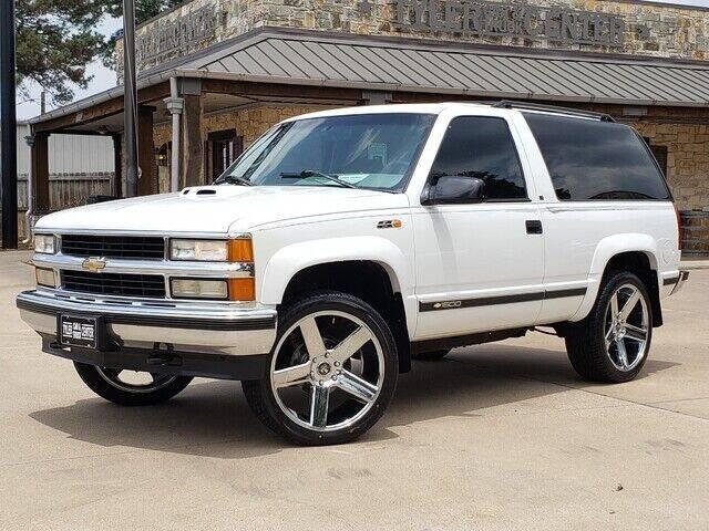 1996 Chevrolet Tahoe for sale at Tyler Car  & Truck Center in Tyler TX
