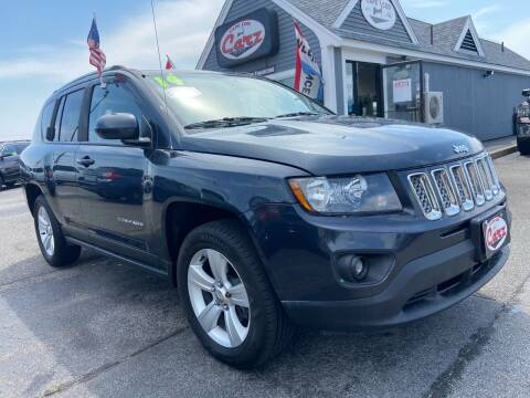 2014 Jeep Compass for sale at Cape Cod Carz in Hyannis MA