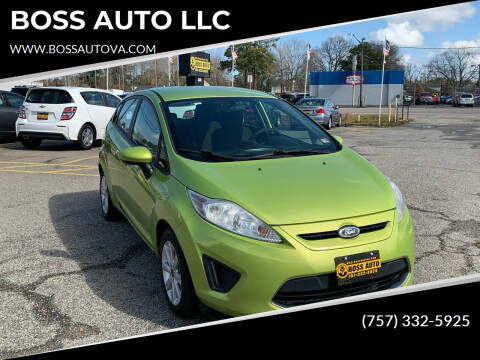 2012 Ford Fiesta for sale at BOSS AUTO LLC in Norfolk VA