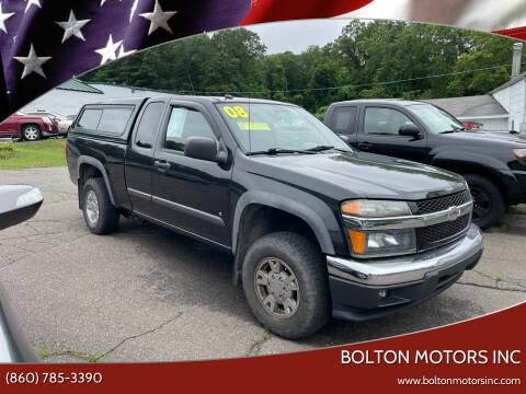 2008 Chevrolet Colorado for sale at BOLTON MOTORS INC in Bolton CT