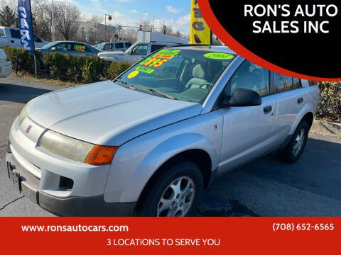 2004 Saturn Vue for sale at RON'S AUTO SALES INC in Cicero IL