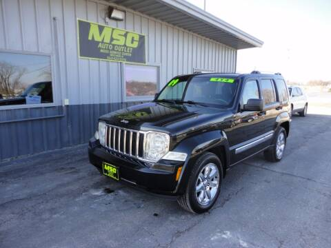 2009 Jeep Liberty for sale at Moss Service Center-MSC Auto Outlet in West Union IA