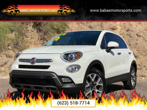 2016 FIAT 500X for sale at Baba's Motorsports, LLC in Phoenix AZ