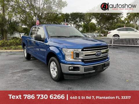 2018 Ford F-150 for sale at AUTOSHOW SALES & SERVICE in Plantation FL