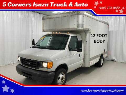 2006 Ford E-Series Chassis for sale at 5 Corners Isuzu Truck & Auto in Cedarburg WI