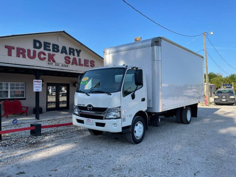 2015 Hino 195 for sale at DEBARY TRUCK SALES in Sanford FL