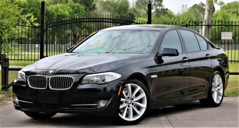 2011 BMW 5 Series for sale at Texas Auto Corporation in Houston TX