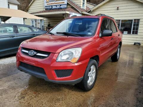 2010 Kia Sportage for sale at Auto Town Used Cars in Morgantown WV