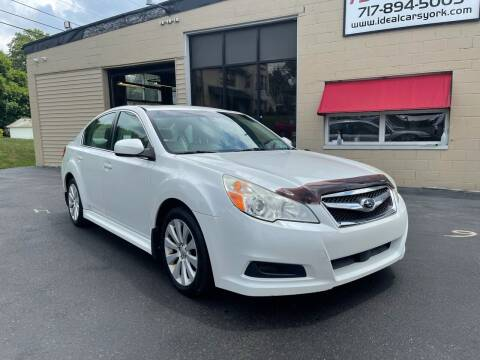 2010 Subaru Legacy for sale at I-Deal Cars LLC in York PA
