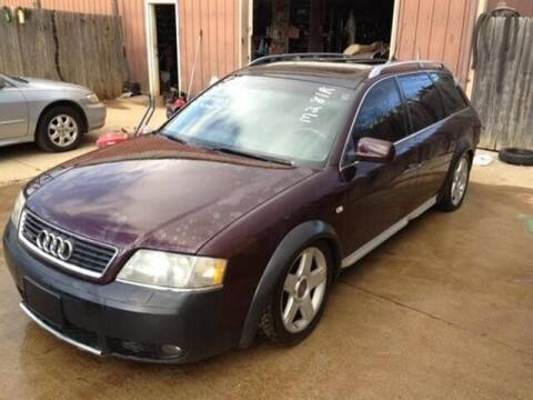 2003 Audi Allroad for sale at East Coast Auto Source Inc. in Bedford VA