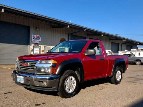 2006 GMC Canyon for sale at DASH AUTO SALES LLC in Salem OR