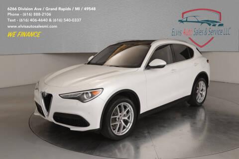 2018 Alfa Romeo Stelvio for sale at Elvis Auto Sales LLC in Grand Rapids MI