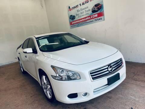2014 Nissan Maxima for sale at Antonio's Auto Sales - Antonio`s  3001 in Pasadena TX