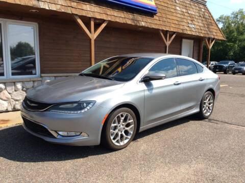 2015 Chrysler 200 for sale at MOTORS N MORE in Brainerd MN
