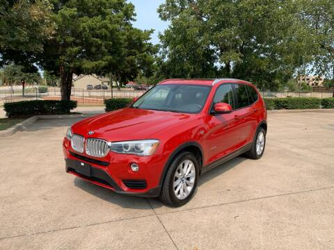 2015 BMW X3 for sale at Z AUTO MART in Lewisville TX