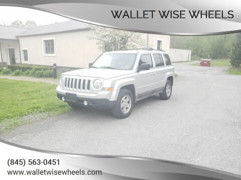 2011 Jeep Patriot for sale at Wallet Wise Wheels in Montgomery NY