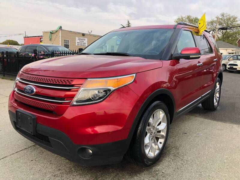 2012 Ford Explorer for sale at Crestwood Auto Center in Richmond VA