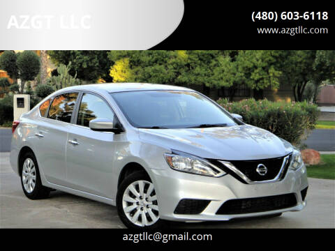 2016 Nissan Sentra for sale at AZGT LLC in Phoenix AZ