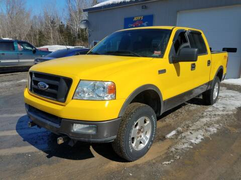 2004 Ford F-150 for sale at Jeff's Sales & Service in Presque Isle ME