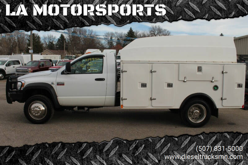 2010 Dodge Ram Chassis 4500 for sale at LA MOTORSPORTS in Windom MN