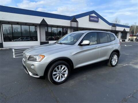 2014 BMW X3 for sale at Impex Auto Sales in Greensboro NC