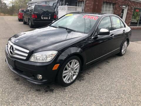 2008 Mercedes-Benz C-Class for sale at MBM Auto Sales and Service in East Sandwich MA