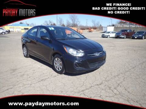2013 Hyundai Accent for sale at Payday Motors in Wichita And Topeka KS
