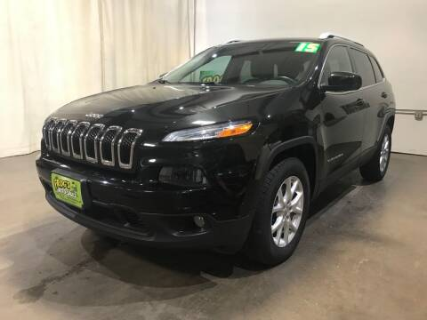 2015 Jeep Cherokee for sale at Frogs Auto Sales in Clinton IA