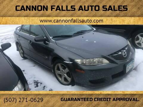 2004 Mazda MAZDA6 for sale at Cannon Falls Auto Sales in Cannon Falls MN