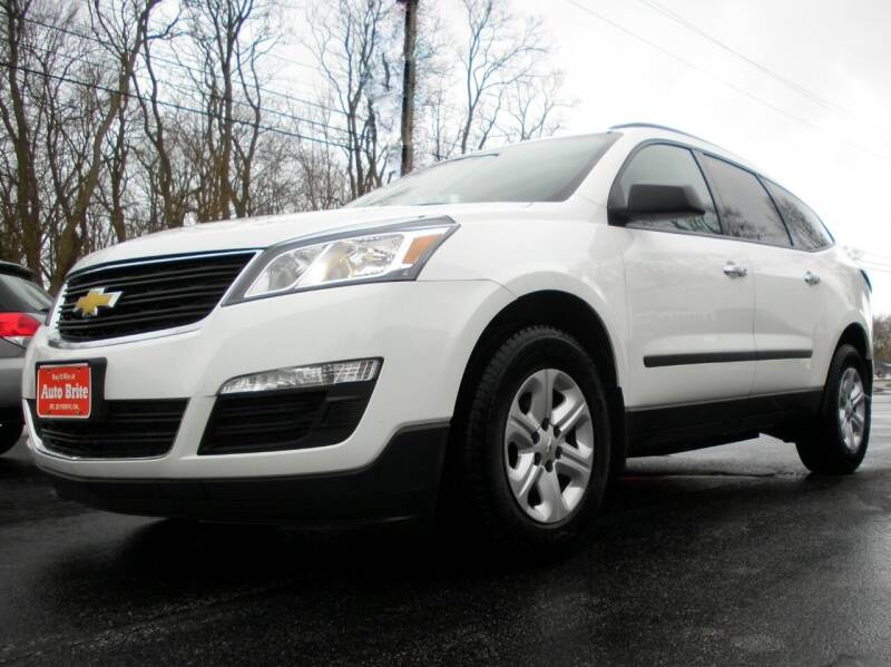 2014 Chevrolet Traverse for sale at Auto Brite Auto Sales in Perry OH