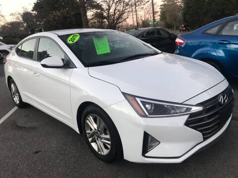 2019 Hyundai Elantra for sale at Scotty's Auto Sales, Inc. in Elkin NC