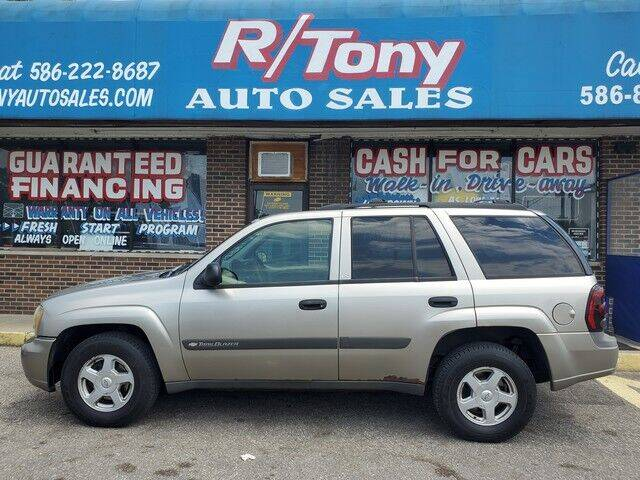 2003 Chevrolet TrailBlazer for sale at R Tony Auto Sales in Clinton Township MI