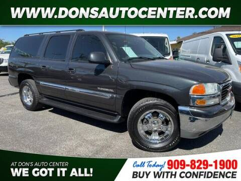 2004 GMC Yukon XL for sale at Dons Auto Center in Fontana CA