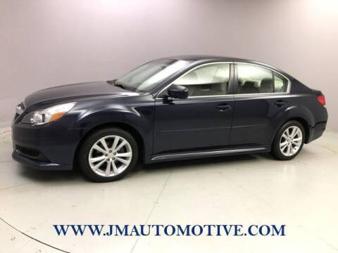 2013 Subaru Legacy for sale at J & M Automotive in Naugatuck CT